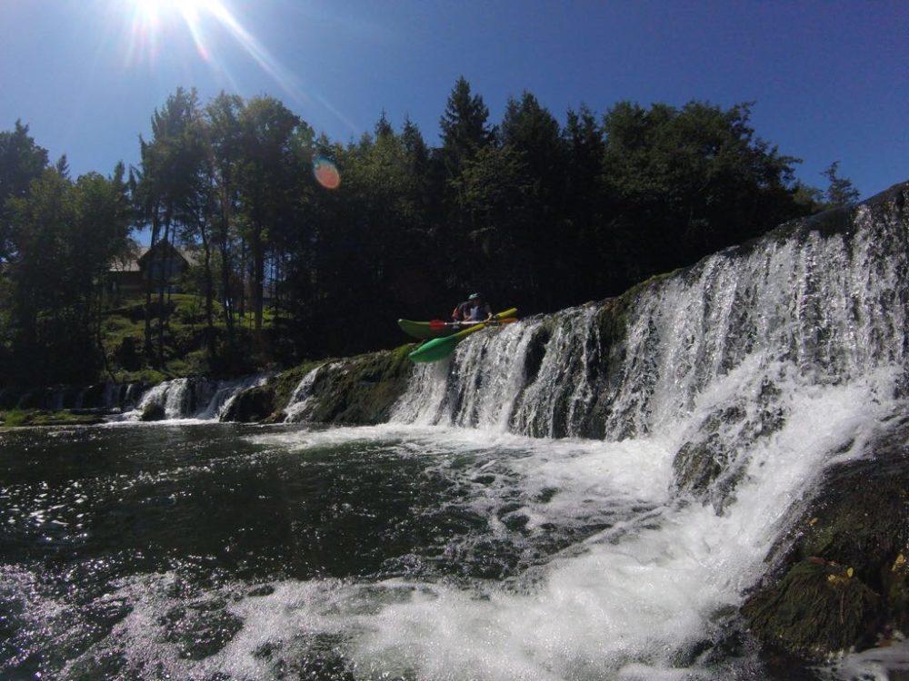 slovenia-sit on top kayaking